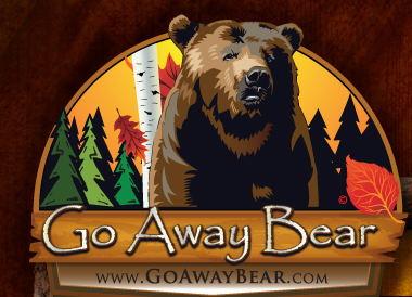 Go Away Bear Logo