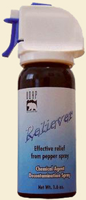 bear spray reliever